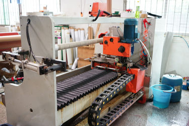 Tape splitting machine