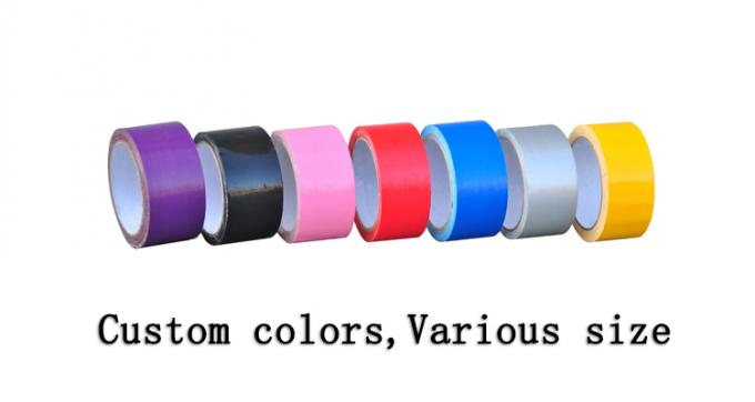 Free Samples Custom Silver Cloth Duct Tape