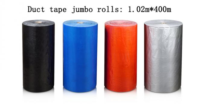 Silver Cloth Duct Tape Jumbo Roll