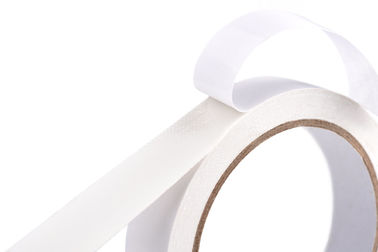 90 Mic Pressure Sensitive Adhesive Strong Double Sided Tissue Paper Tape For Fixing