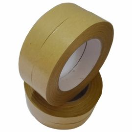 Anti Abrasion Gummed Kraft Sealing Tape High Tensile Strength Customized Length