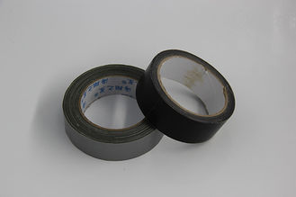 Heavy Duty Cloth Duct Tape , Heat Proof Plaid Duct Tape Flexible Strong Adhesion