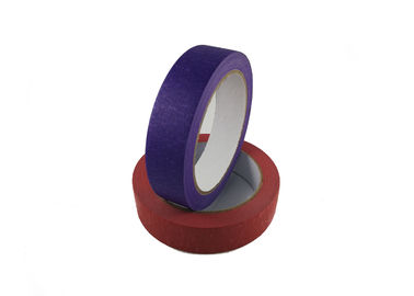 Writable High Temp Masking Tape , Coloured Adhesive Tape For Kids Holiday Decorations