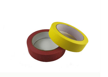 Car Painting Easy Peel Masking Tape High Temperature Resistance For Interior Paint Masking