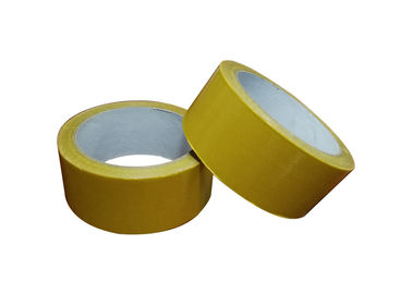 Double Sided Fiberglass Mesh Tape / Reinforced Filament Tape For Bonding Sealing Strips To Doors And Windows