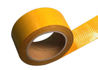 High Adhesion Bi - Directional Filament Strapping Tape For Bonding Strips To Car Doors