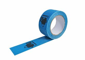 Blue Printed Packing Colored Cloth Duct Tape For Decorating High Tensile Strength