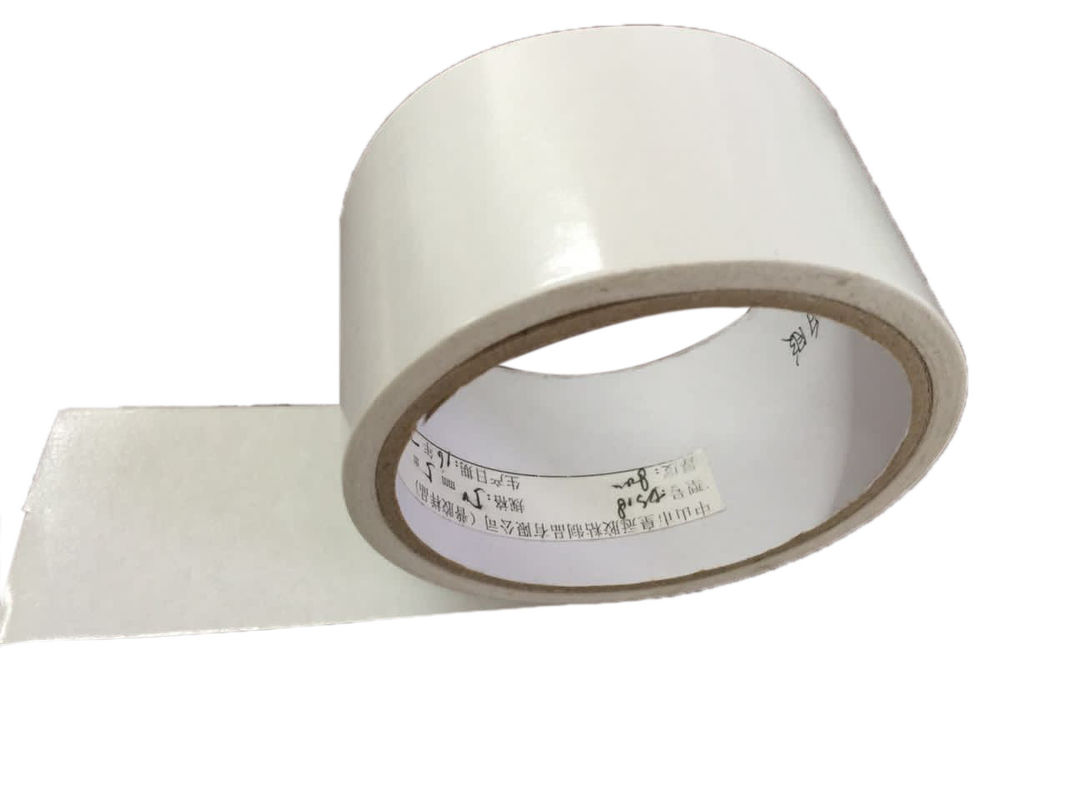 Acrylic Adhesive Double Coated Tissue Tape , Paper Masking Tape Various Sizes / Colors