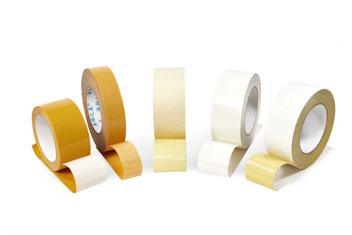 High Bond Double Sided Carpet Tape , Paint Safe Double Sided Tape Paste Fixed