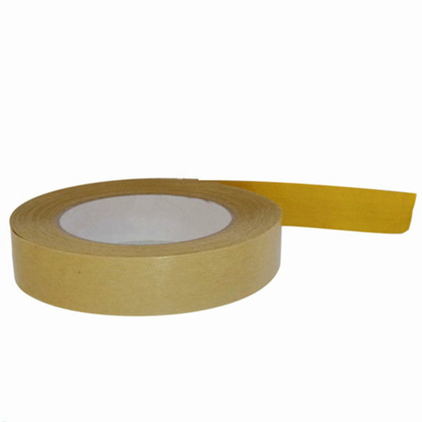 Water Activated Gummed Kraft Paper Tape , Kraft Packaging Tape For Carton Sealing