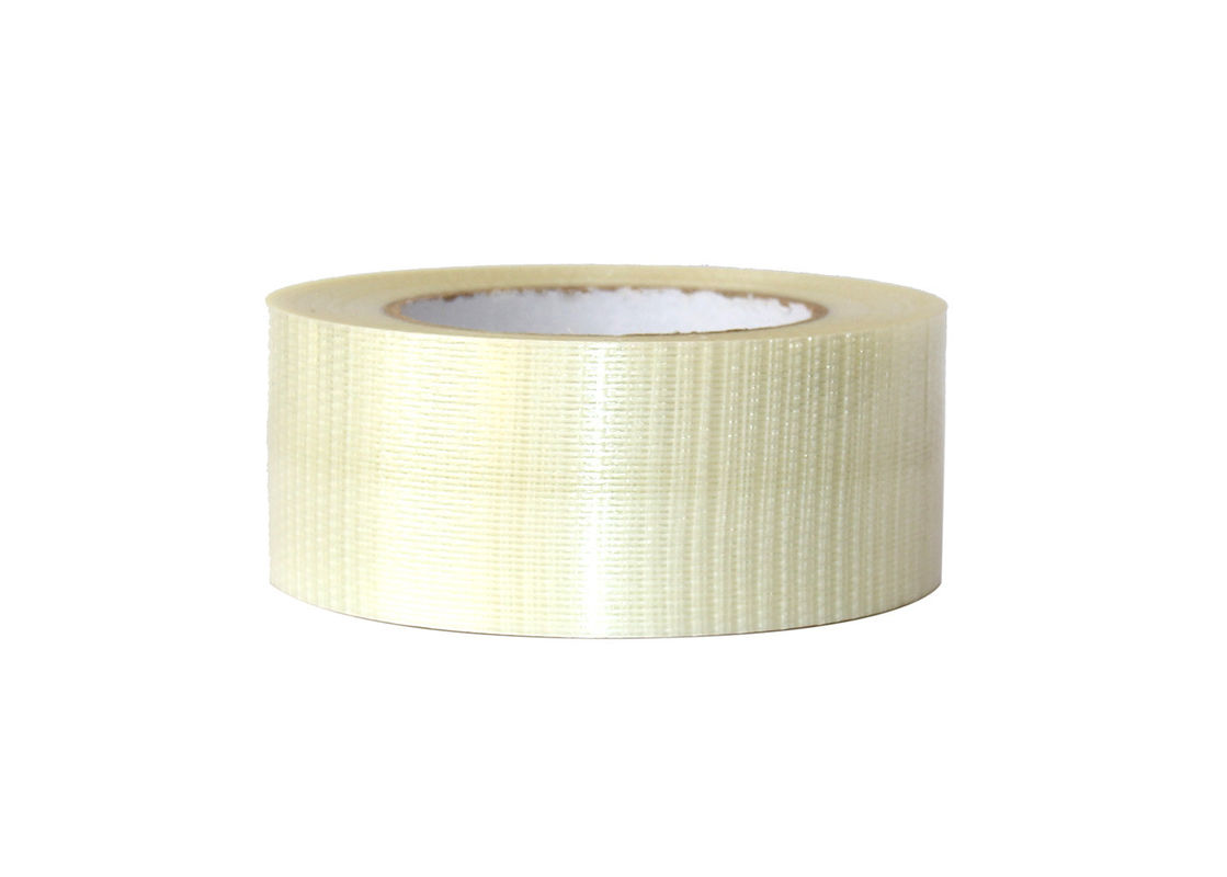 Linear Waterproofing Fiberglass Mesh Joint Tape Hot Melt Adhesive Pallet Fixing