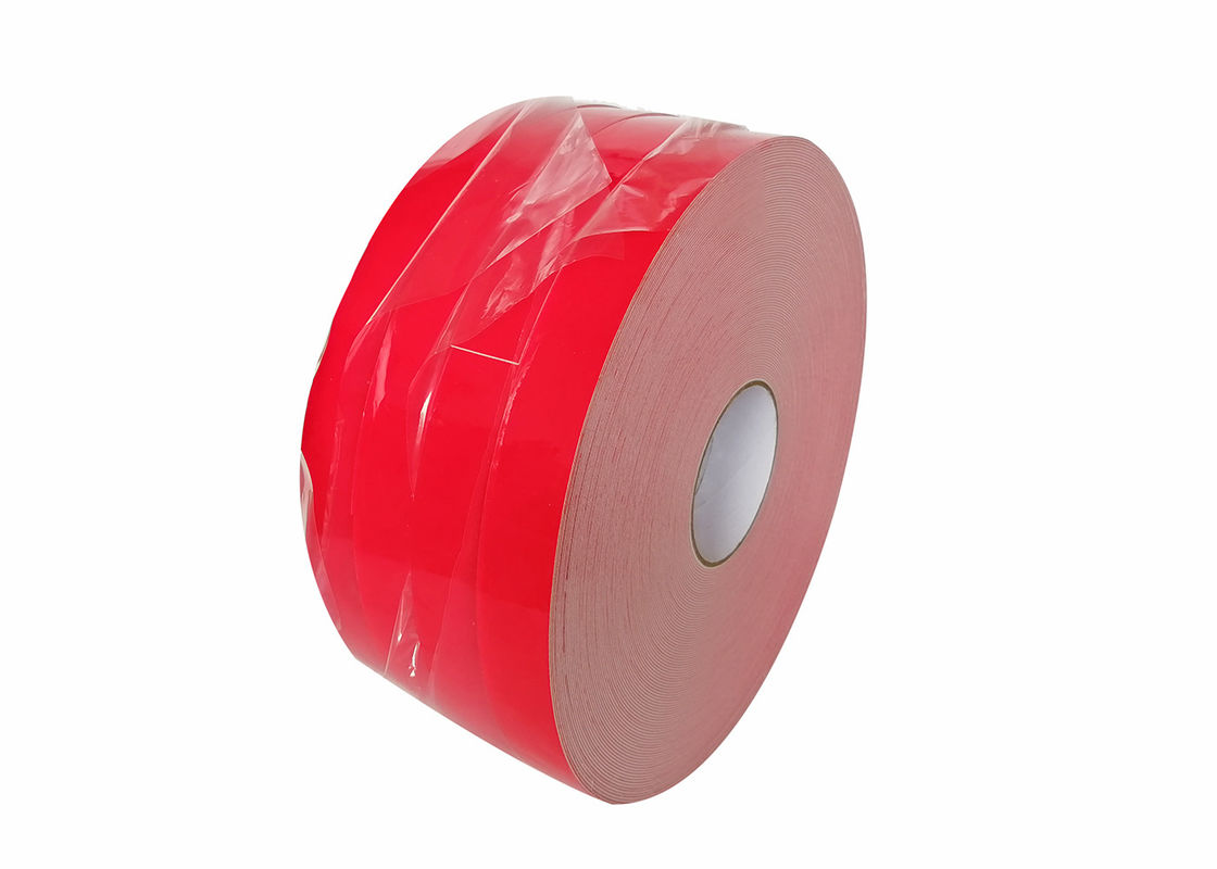 Customized Solvent Acrylic Double Adhesive Foam Tape For Banner Hemming