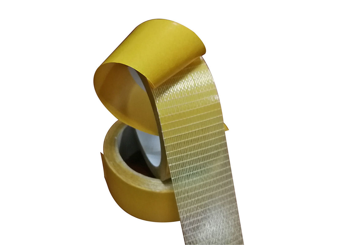 Plain Woven Double Sided Fiberglass Mesh Tape For Carpet Seaming And Fixed