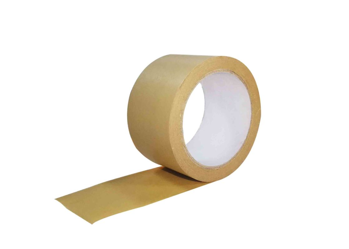 50mm x 50m Strong Kraft Paper Sealing Tape Rolls Self Adhesive Packaging Tapes