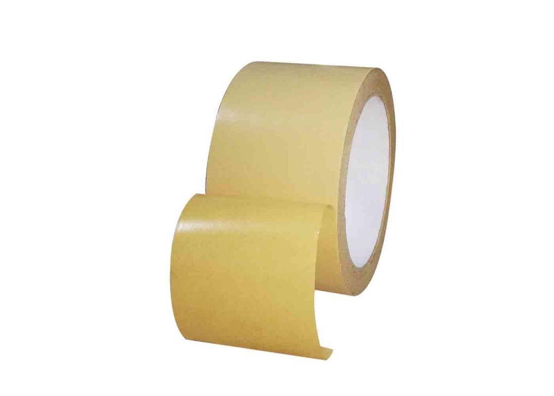 Self Adhesive Reinforced Kraft Paper Tape Anti Heat For Paper Processing Industries