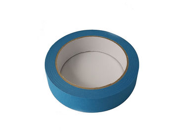 Paper Colored Masking Tape / Colored Tape Hot Melt Adhesive No Residue Removed