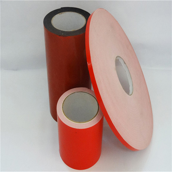 PE Foam High Strength Double Sided Adhesive Tape Sealing Glass / Photo Frame