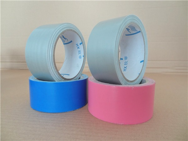 Blue / Silver colorful  Duct Tape jumbo roll Sealing Carpet Joints edge
