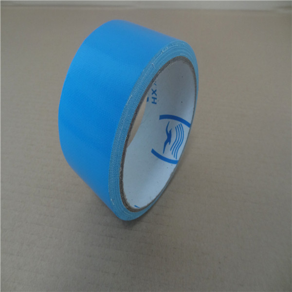 Heat Resistant Cloth Backed Duct Tape High Tensile StrengthEasy Tear Pipe Sealing