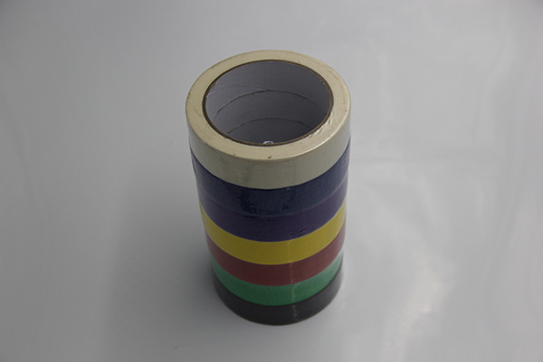 145mic High Temp Colored Masking Tape ,  Automotive Masking Tape Car Painting / Decorative