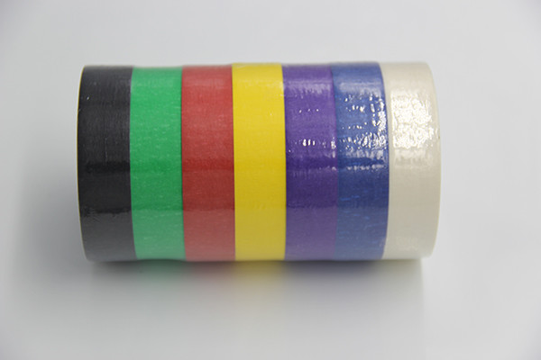 Heat Resistant Paper Colored Masking Tape Writable Indoor Paint Masking