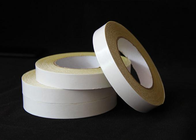 Heat resistant Double Sided Carpet Tape For Carton / Bag Sealing